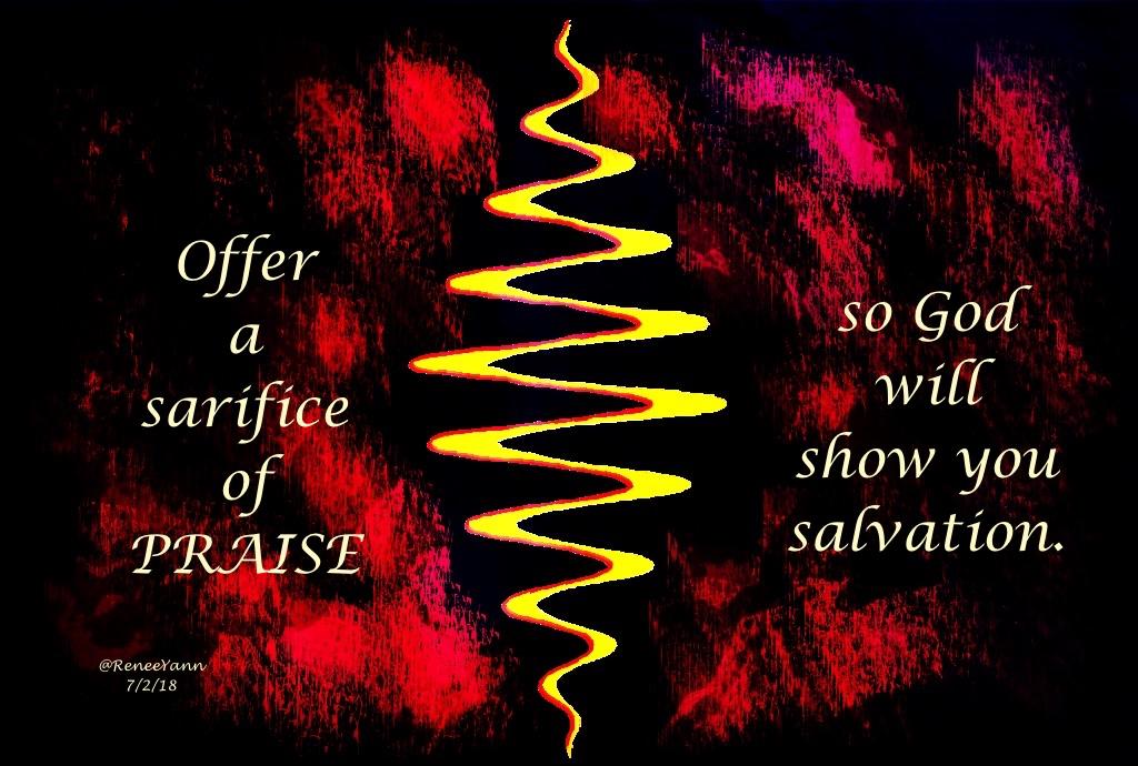 sacrifice of praise
