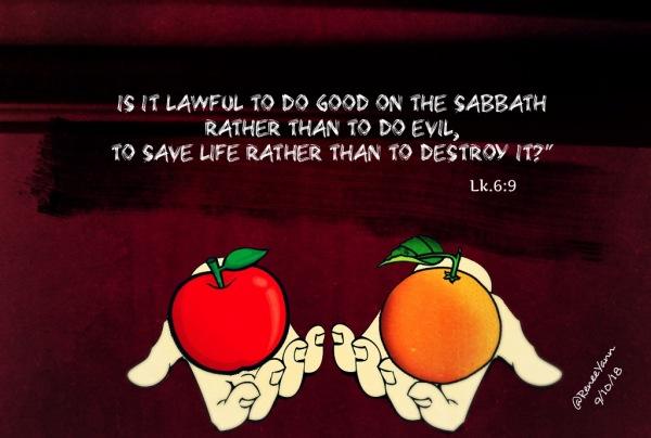 Lk6_9 law or mercy
