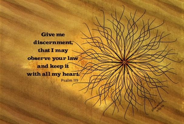 Psalm 199 discern
