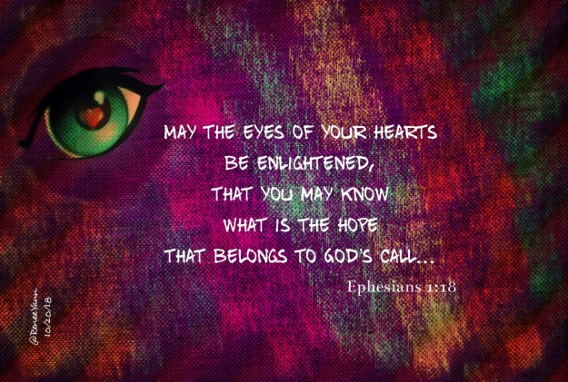 Ephesians 1_18 Blessed be
