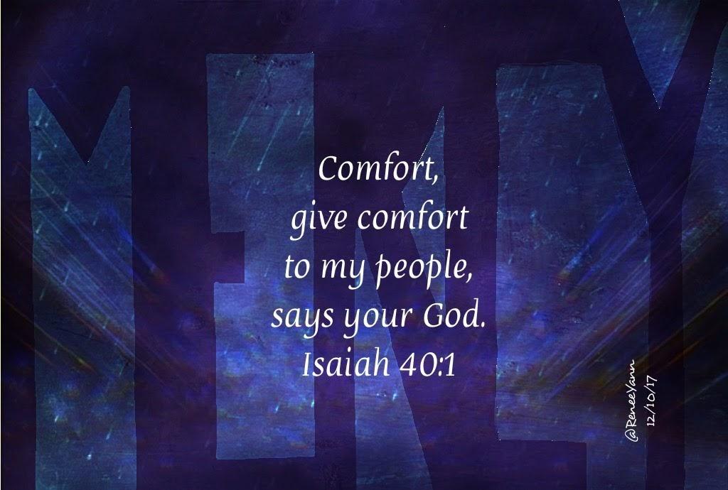 Is 40_1 comfort ye