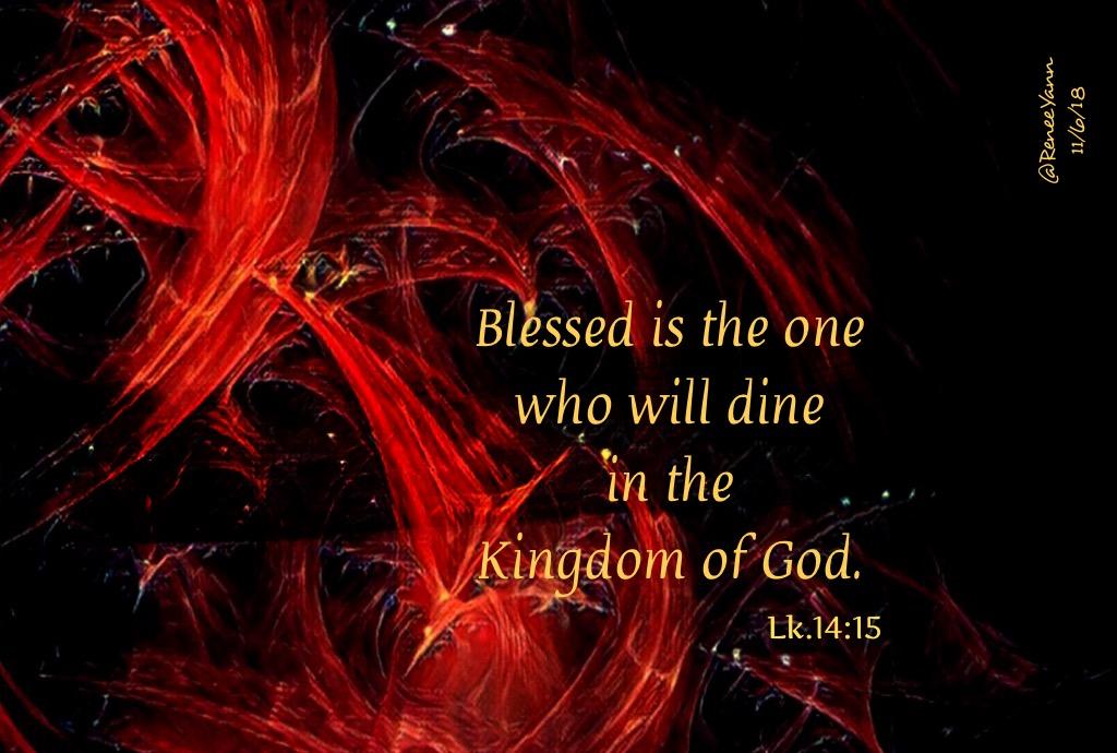 Lk14_15 dine kingdom