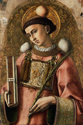 The Demidoff Altarpiece: Saint Stephen