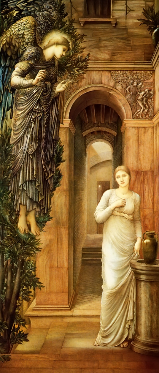 BURNE-Jones,_Edward_The_Annunciation_1876-79