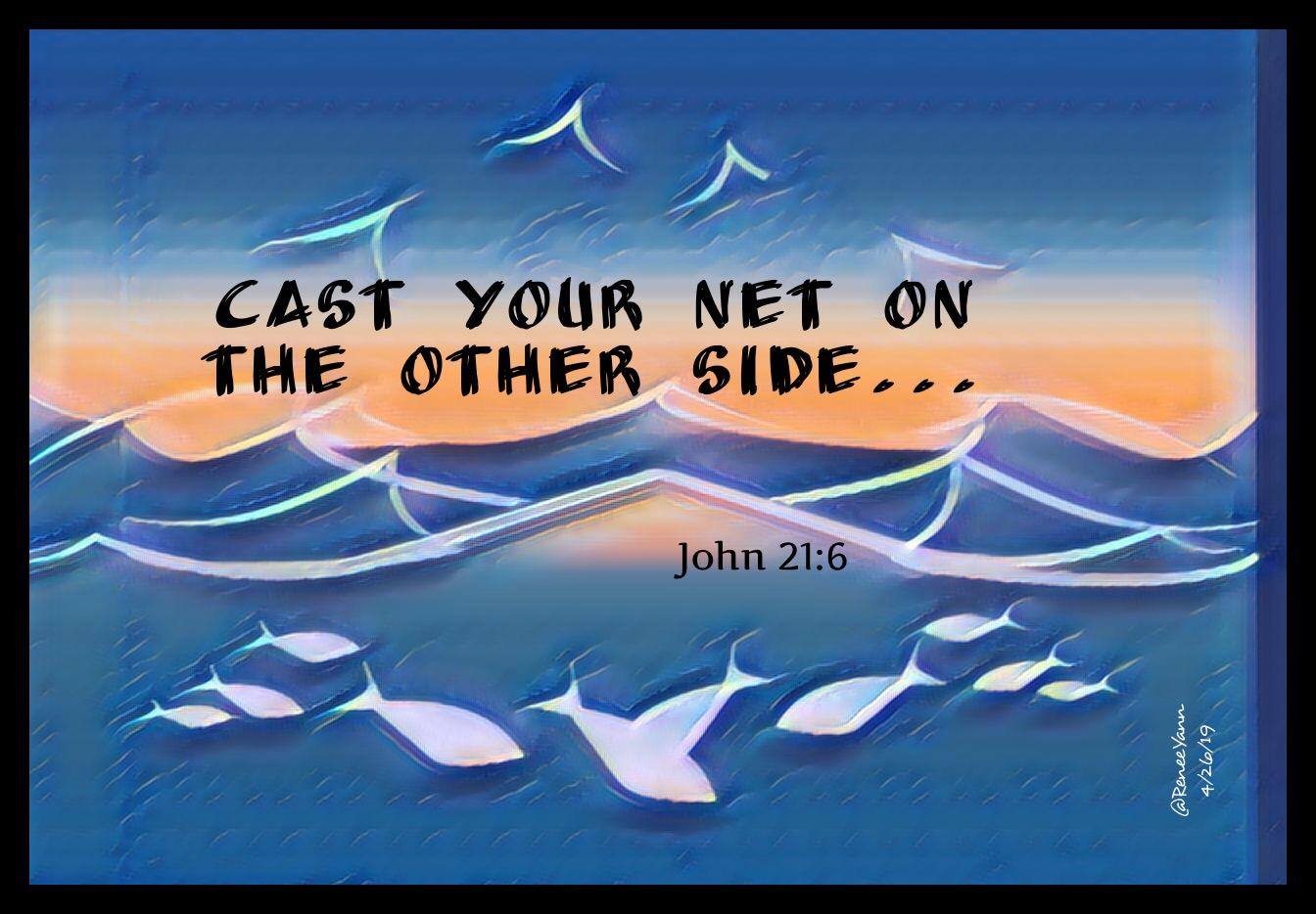 Jn21_6 cast net