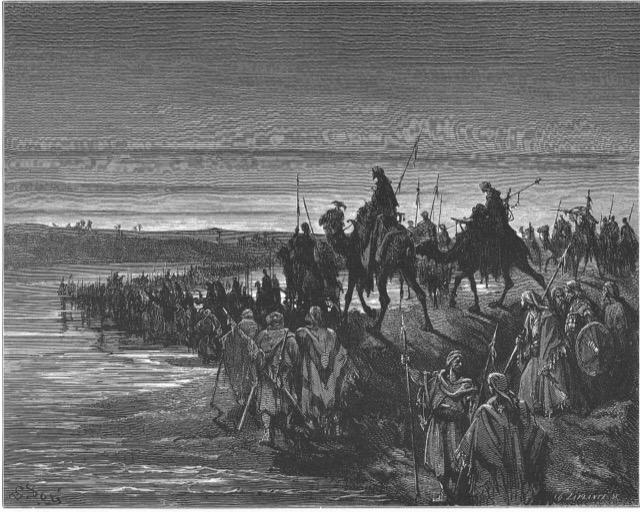 Israelites into Canaan