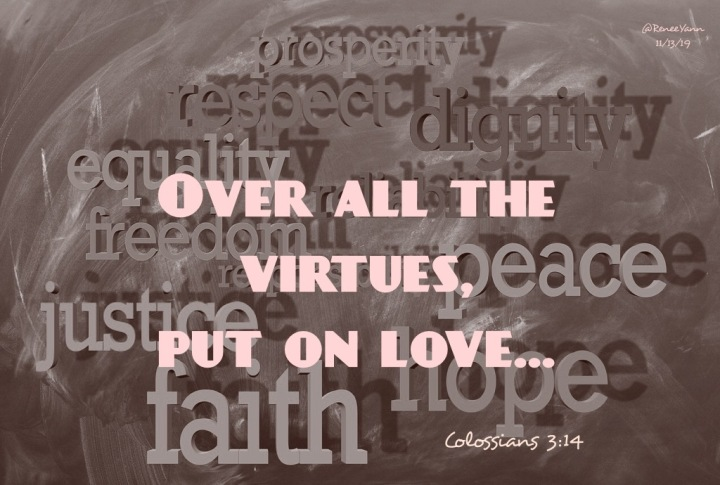 Col3_14 put on love