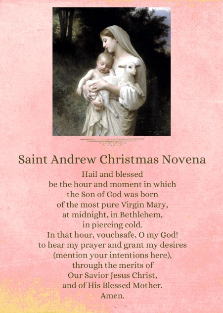 St Andrew PRayer