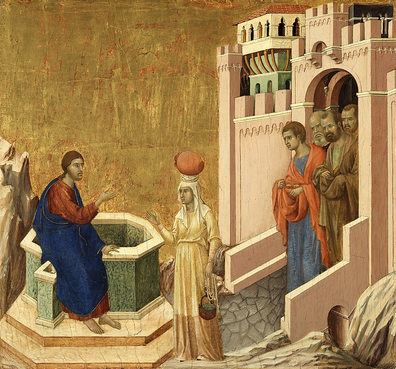 800px-Duccio_di_Buoninsegna_-_Christ_and_the_Samaritan_Woman_-_Google_Art_Project