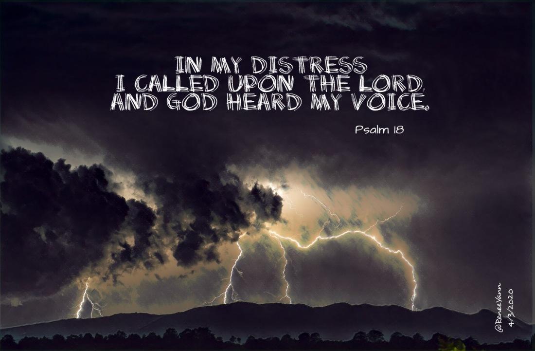 Psalm18 distress