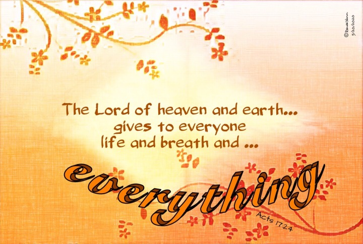 Acts17_24 everything
