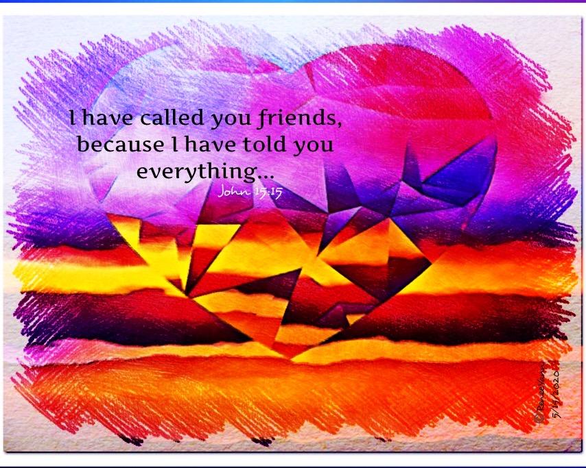 Jn15_15 Friends