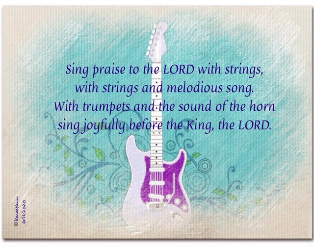 psalm 98 strings